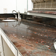 Modern Kitchen Countertops by Granite Grannies