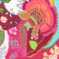 quilted tapestry – rosa - view this item on our website for more information + purchasing availability: http://redinfred.com/shop/category/free-shipping/quilted-tapestry-rosa/