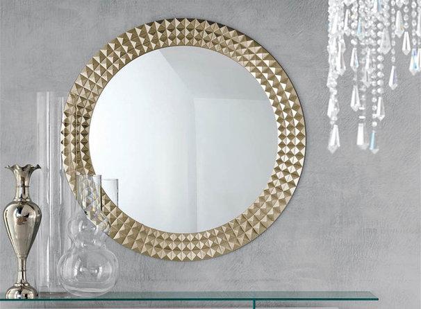 Modern Makeup Mirrors Egypt Round Wall Mirror By Cattelan Italia