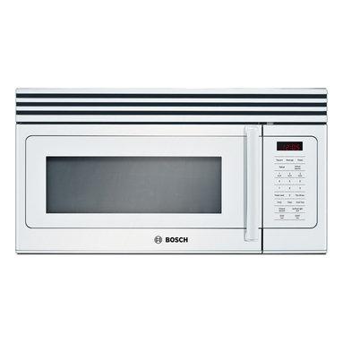 "Bosch 30"" 300 Series Over The Range Microwave, White | HMV3021U - 10 LEVEL COOK POWER"