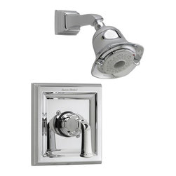 American Standard - American Standard T555.527.224 Town Square Trim Kits Only, Oil Rubbed Bronze. - American Standard T555.527.224 Town Square Trim Kits Only, Oil Rubbed Bronze. This Trim Kit features a single metal lever handle, metal wall escutcheon, cast brass shower arm, water saving FloWise 3-function showerhead and it fits models R120, R120SS, R125, R125SS, R127, and R127SS rough valve bodies.