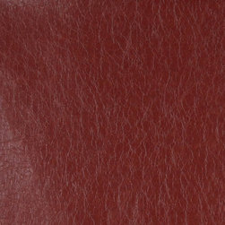 Red Distressed Leather Look Faux Leather Vinyl By The Yard - This material is great for automotive, commercial and residential upholstery. It is very easy to clean with mild soap and water.