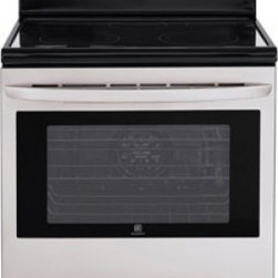 LG - LRE3027ST 6.3 cu. ft. Capacity Electric Single Oven Range With Infrared Grill  S - Theres more to cooking than just heating up food Our Smart ThinQ range interfaces with the LG cooking management app making it easier than ever to plan meals for your family set precise temperature control remotely even monitor the ovens self-cleanin...