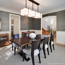 Eclectic Dining Room by David Eichler Photography