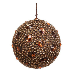 Silk Plants Direct - Silk Plants Direct Jewel Ball Ornament (Pack of 3) - Silk Plants Direct specializes in manufacturing, design and supply of the most life-like, premium quality artificial plants, trees, flowers, arrangements, topiaries and containers for home, office and commercial use. Our Jewel Ball Ornament includes the following: