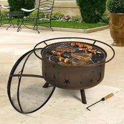 Outdoor Classics Fire Pit Grill - Outdoor Fire Pit Grill Set