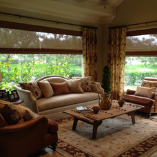 Traditional Living Room by Lyndsy Calato Designs