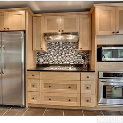 Alton Shaker Maple Wood Cabinets - Photo of our Alton ...