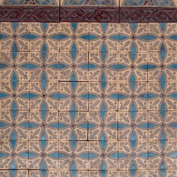 Patterson Collection - Encaustic tile from the Patterson Collection add warmth and history to any installation whether indoor or out.