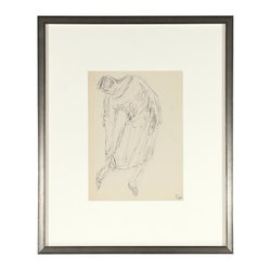 Early Midcentury Figure Drawing