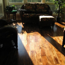 Asian Hardwood Flooring by Unique Wood Floors