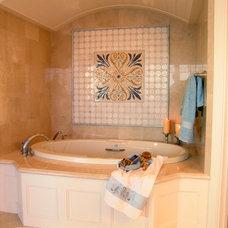 Traditional Bathroom by Maraya Interior Design