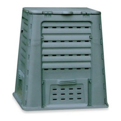 Exaco Trading - Exaco Trading Co. WIBO Thermoquick 110-Gallon Composter - This medium sized composter is ideal for the home gardener. It is very easy to assembly - just lock the 4 side panels together and attach the lid.