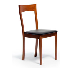 Janna Dining Chair, Cherry, Set of 2