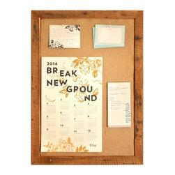 Large Burlap Bulletin Board -Wall Organization System - Large Burlap Bulletin Board