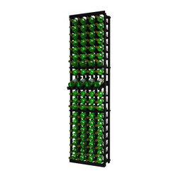 Wine Cellar Innovations - Traditional Series 80 Individual Bottle Rack w/display - The Redwood & Pine 4 Column Individual Bottle wine rack is 20 rows high and stores 80 wine bottles with 4 bottles on top. Assembly required.
