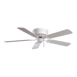 """Minka Aire - Minka Aire F565-WH Mesa White 52"""" Ceiling Fan - Minka Aire F565-WH Mesa White 52"""" Ceiling Fan"""