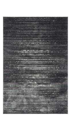"""Loloi Rugs - Loloi Rugs Elton Collection - Pewter / Purple, 3'-9"""" x 5'-6"""" - Designed to look like a modern version of yesterday's classics, the Elton Collection features intentionally distressed pattern that matches well with contemporary to transitional spaces. Elton is power loomed in Egypt of polypropylene and polyester for great durability and easy maintenance. Available in six sizes including a runner and a scatter."""