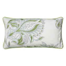 """Rizzy - Rizzy T05931 Pillow, 11"""" x 21"""" - Pillow with Hidden Zipper"""
