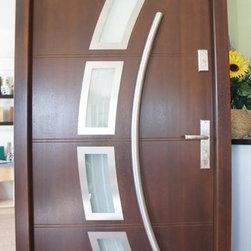 Modern Exterior Door Model 006 - Modern Home Luxury