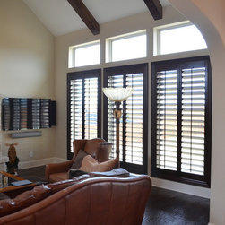 Plantation Shutters - Family room (After)
