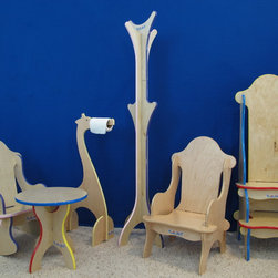 Children and kids's furniture store - A few of our featured products and colors.
