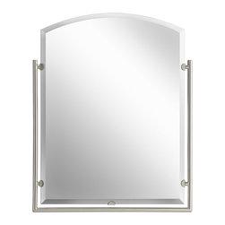 Kichler Lighting - Kichler Lighting 41056NI Structures Brushed Nickel Mirror - Kichler Lighting 41056 Structures Mirror