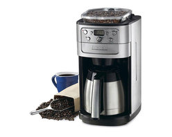Cuisinart - Cuisinart DGB-900BCFR Grind-and-Brew Automatic Coffeemaker (Refurbished) - Grind, brew and pour up to 12 cups of coffee with ease using this Cuisinart automatic coffeemaker. The coffeemaker has three settings to allow you to choose the strength of your coffee, and the brew-pause function lets you drink as it creates.