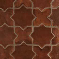 Spanish Stained Terracotta Tiles - Spanish Terracotta Tiles Waxed