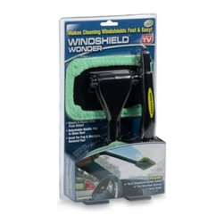 "As Seen On Tv - The Windshield Wonder - This convenient tool is designed to keep you from having to twist and contort to clean interior windows, even in an automobile! The 16"" handle has a pivoting head and an angled end so you can easily get into hard to reach spots."