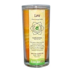 Aloha Bay Chakra Candle Jar Love - 11 Oz - Aloha Bay Chakra Candle Jar Love Description: