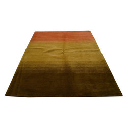 1800-Get-A-Rug - Oriental Rug Modern Hand Knotted Rug Sh12105 - About Modern & Contemporary