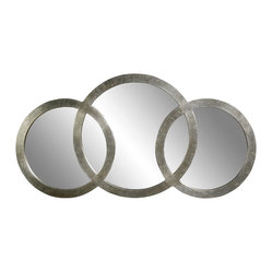 Triple Circle Wall Mirror