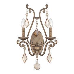 SAVOY HOUSE - Savoy House 9-8104-2-128 Rothchild 2 Light Sconce - Bulbs are included.