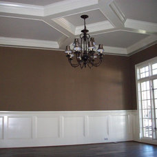 traditional dining room by Hickman Construction Company, Inc.