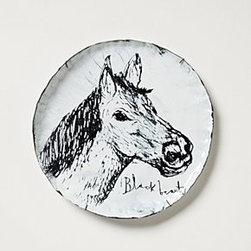 """Buddug Humphreys - Snowdown Canape Plate - By Buddug HumphreysOne of a kindCopper, steel, enamel 8"""" diameterHandmade in United Kingdom"""