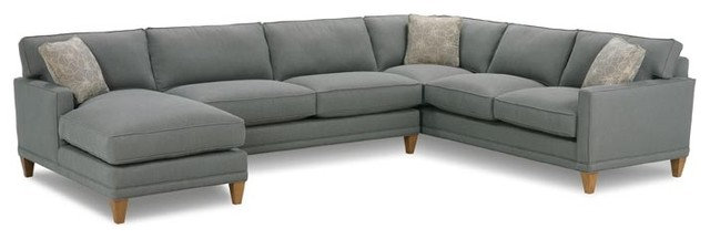 Contemporary Sectional Sofas by Rowe Furniture