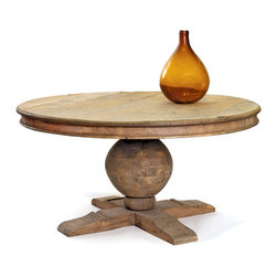 Winchester Table - I love the look and shape of this table.