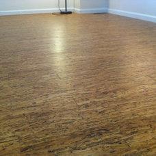 Contemporary Hardwood Flooring Cork Floor