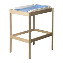 IKEA of Sweden - SNIGLAR Changing table - Changing table, beech, white