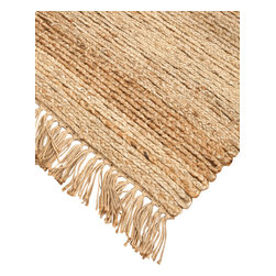 """Natural Area Rugs - """"Sicily"""" Jute Rug, 100% Natural Jute, Hand Woven - Free & Same Day Shipping within Continental USA. International Shipping Available (Contact us for a quote). All natural, hand woven by Artisan rug maker. Jute is naturally durable yet soft. Like any rug, rug pads are recommended as it will prolong the longevity of your jute rug and protect hardwood floor. Do not pull loose fiber, clip and remove the loose ends with scissors. Variations are part of the natural beauty of natural fiber."""