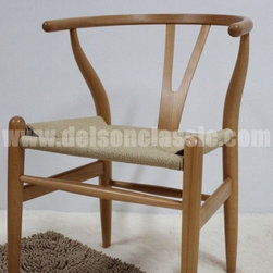 Hans J Wegner Wooden CH24 wishbone chair/ Y chair - Hans J Wegner Wooden CH24 wishbone chair/ Y chair  DS217