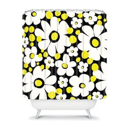 DENY Designs Khristian A Howell Cape Cod 4 Shower Curtain - Give your bathroom a little flower power and a whole lot of style with the DENY Designs Khristian A Howell Cape Cod 4 Shower Curtain. Bright, stylized flowers and fun colors give a friendly charm to your space. Be bold and go all out with this super cute shower curtain.About DENY DesignsDenver, Colorado based DENY Designs is a modern home furnishings company that believes in doing things differently. DENY encourages customers to make a personal statement with personal images or by selecting from the extensive gallery. The coolest part is that each purchase gives the super talented artists part of the proceeds. That allows DENY to support art communities all over the world while also spreading the creative love! Each DENY piece is custom created as it's ordered, instead of being held in a warehouse. A dye printing process is used to ensure colorfastness and durability that make these true heirloom pieces. From custom furniture pieces to textiles, everything made is unique and distinctively DENY.