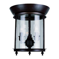 Trans Globe Lighting - Trans Globe Lighting 8700 ROB Flushmount In Rubbed Oil Bronze - Part Number: 8700 ROB