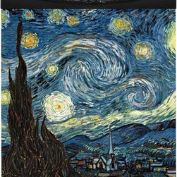 Appliance Art - Appliance Art Starry Night Dishwasher Cover - Change the look of your kitchen appliance with this beautiful dishwasher cover. It features a Starry-Night theme, which will add a touch of elegance to your kitchen decor. It is easy to install and remove, and can be trimmed to fit your dishwasher.