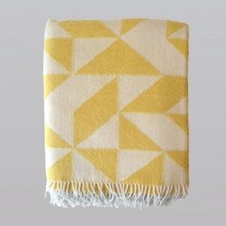 Twist a Twill Blanket - A cozy lap blanket like this Danish throw by Tina Ratzer is a living room necessity.