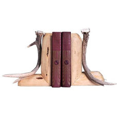 Eclectic Bookends by Rocky Mountain Cabin Decor