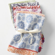 Contemporary Napkins by Anthropologie