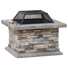 Contemporary Firepits by Great Deal Furniture