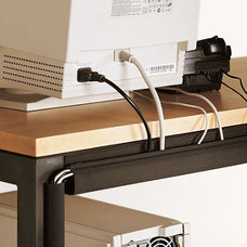Contemporary Cable Management by Room & Board